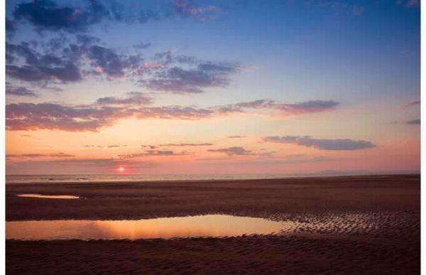 Фотообои Пляжный закат