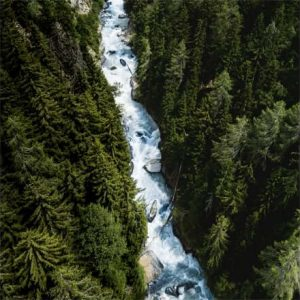 Фотообои Горная река